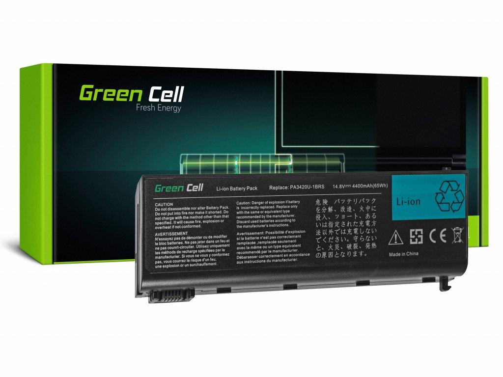 Baterie pro Toshiba Satellite L10 L15 L20 L25 L30 L35 L100 / 14,4V 4400mAh