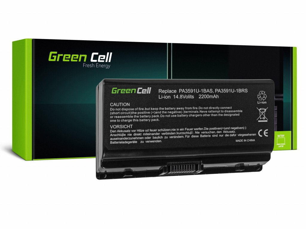 Baterie pro Toshiba Satellite L40 L45 L401 L402 PA3591U-1BRS / 14,4V 2200mAh