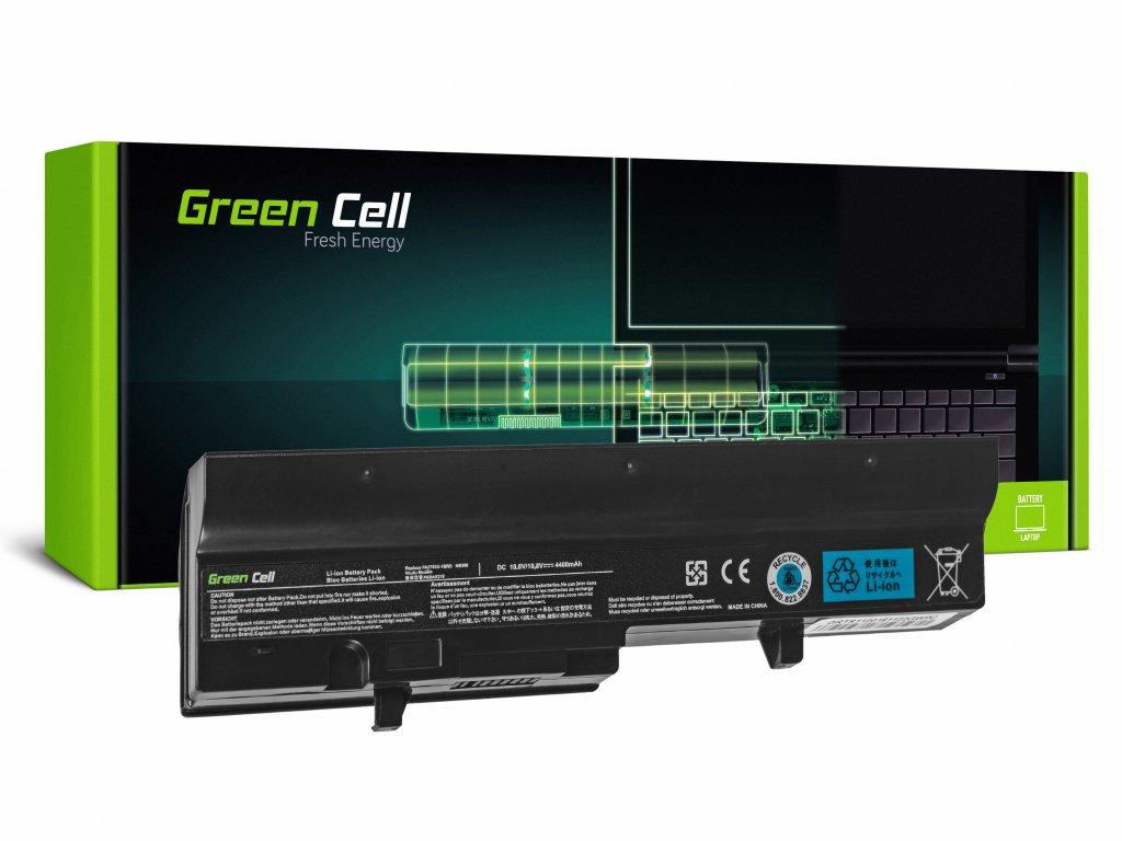 Baterie pro Toshiba Mini NB300 NB301 NB302 NB303 NB304 NB305 (black) / 11,1V 4400mAh
