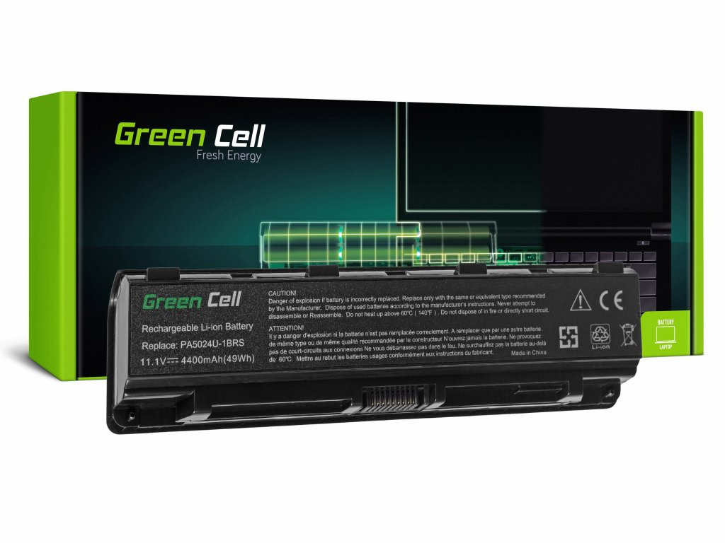 Baterie pro Toshiba Satellite C850 C855 C870 L850 L855 PA5024U-1BRS / 11,1V 4400mAh