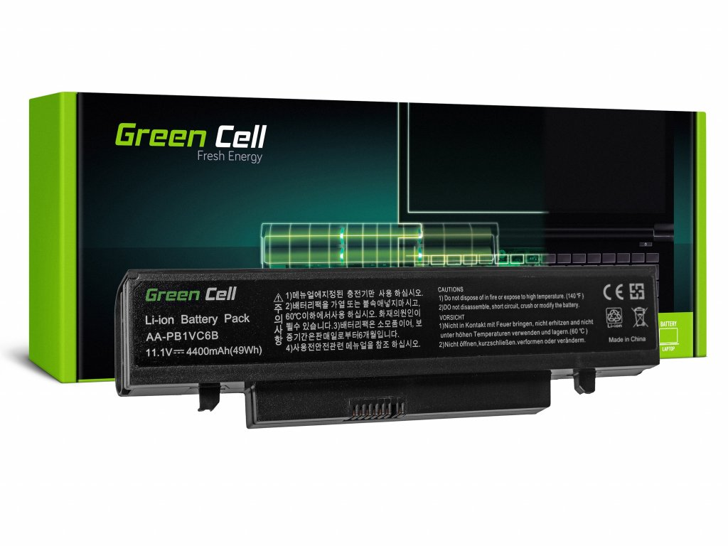 Baterie pro Samsung Q328 Q330 N210 N220 NB30 X418 X420 X520 / 11,1V 4400mAh