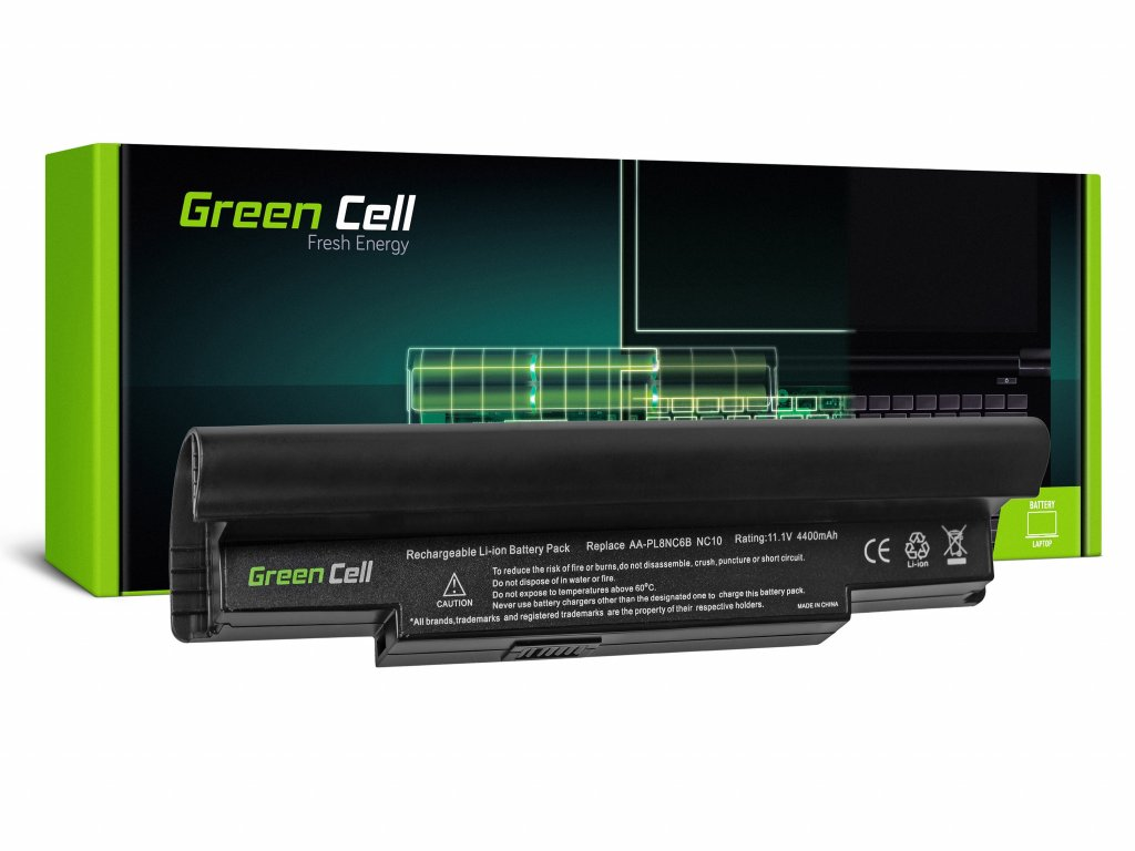 Baterie Samsung NP-NC10 NP-N110 NP-N130 NP-N140 / 11,1V 4400mAh