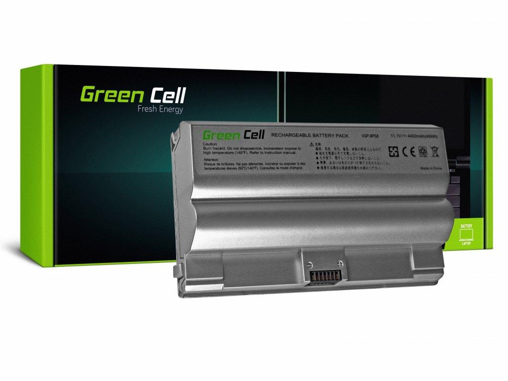 Baterie pro Sony Vaio PCG-3A1M VGN-FZ21M VGN-FZ21S / 11,1V 4400mAh