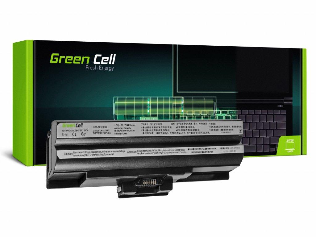 Baterie Sony Vaio VGP-BPS13 VGP-BPS21 (black) / 11,1V 4400mAh