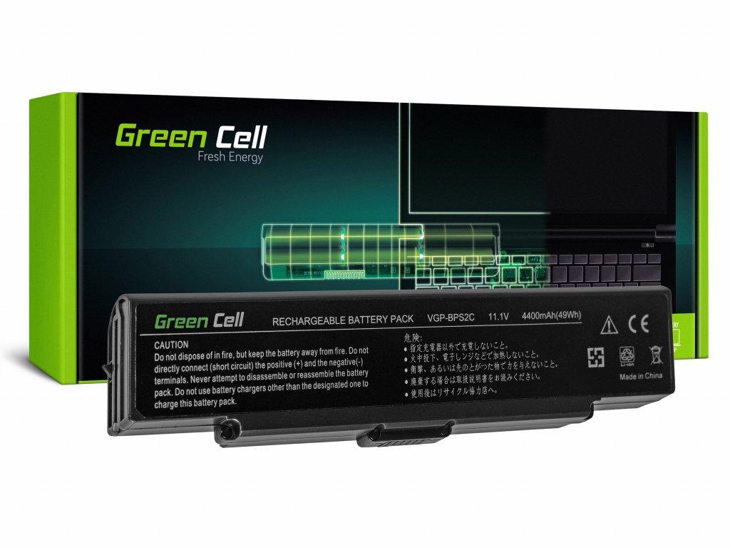 Baterie pro Sony Vaio PCG-7D1M VGN-FE650G VGN-FE890N / 11,1V 4400mAh
