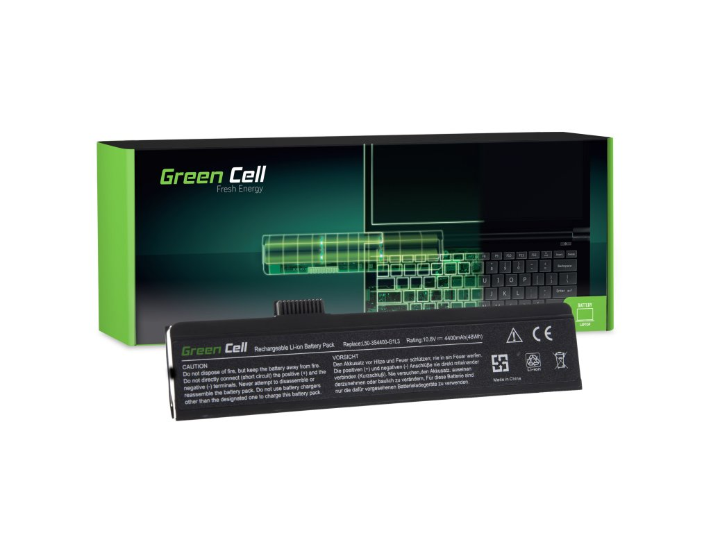 Baterie Fujitsu-Siemens 3L50 Maxdata Eco 4500 / 11,1V 4400mAh