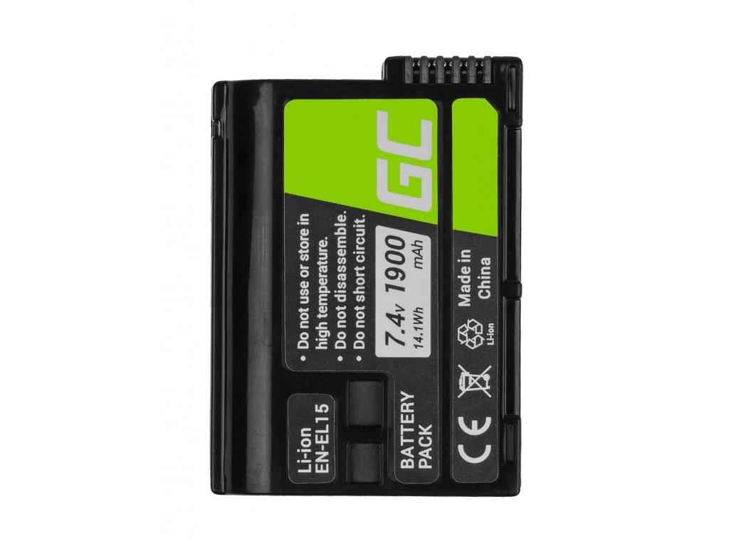Baterie pro Cell Nikon D600 D800 D7000 D8000