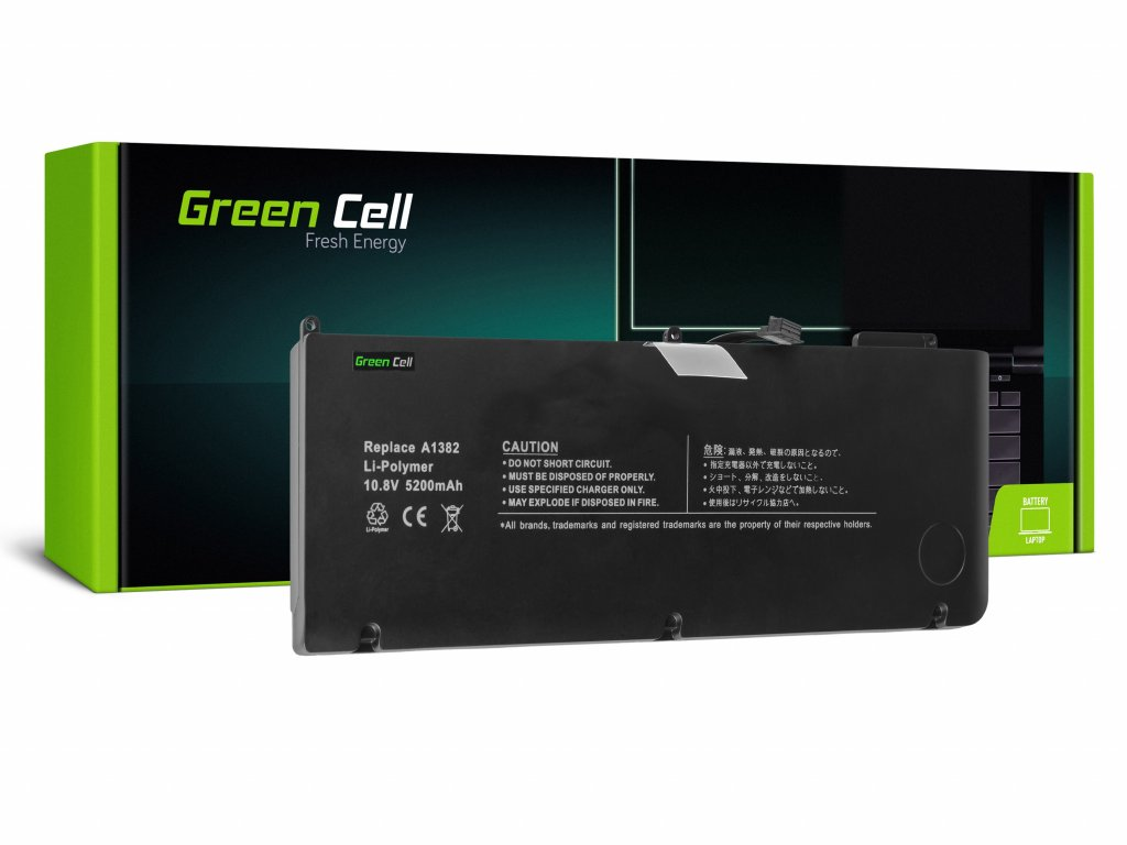 Baterie pro Apple Macbook Pro 15 A1286 2011-2012 / 10,95V 5200mAh