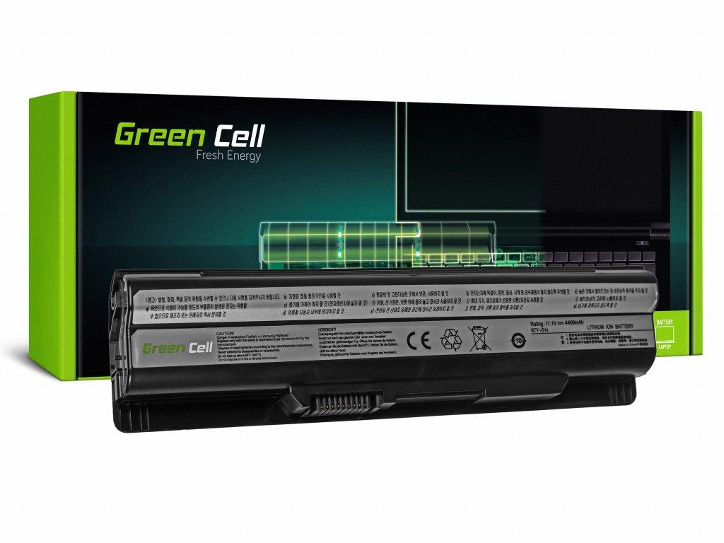 Baterie pro MSI CR650 CX650 FX600 GE60 GE70 (black) / 11,1V 4400mAh