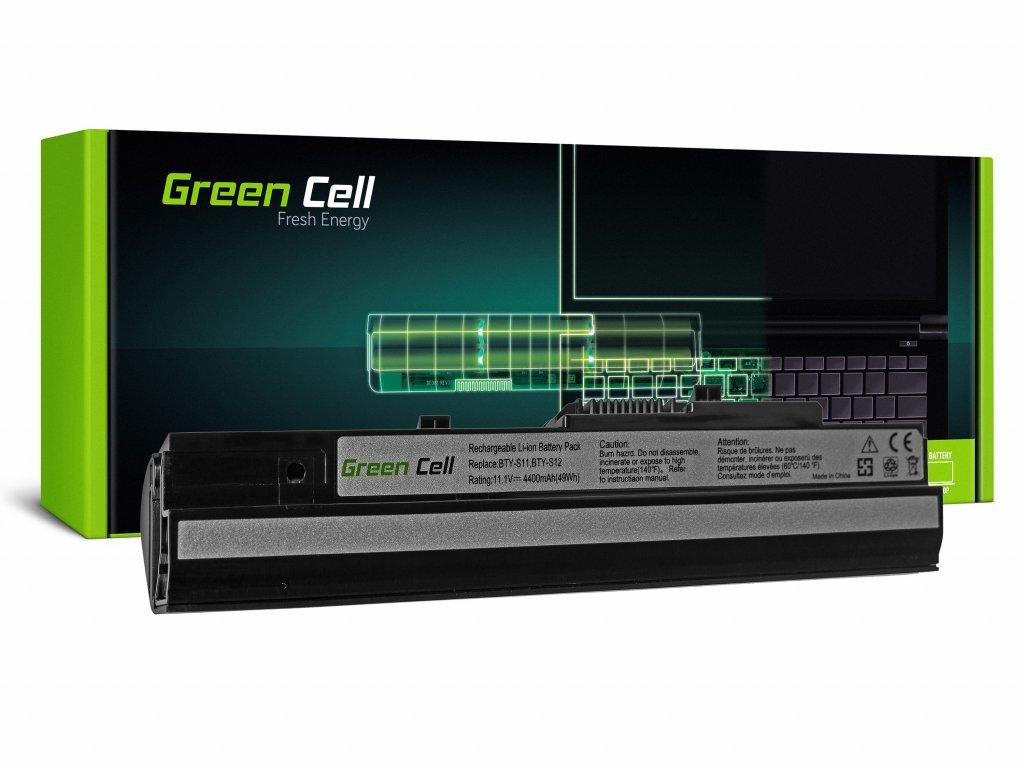 Baterie MSI Wind U91 L2100 L2300 U210 U120 U115 U270 (černá) / 11,1V 4400mAh