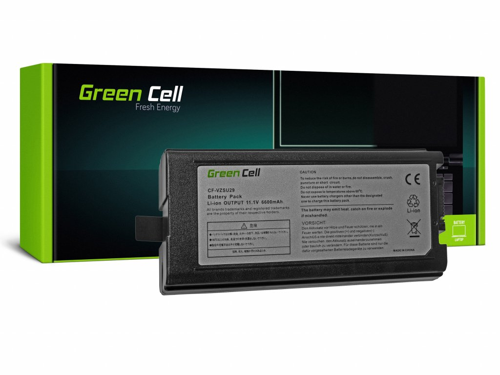 Baterie pro Panasonic CF29 CF51 CF52 / 11,1V 6600mAh