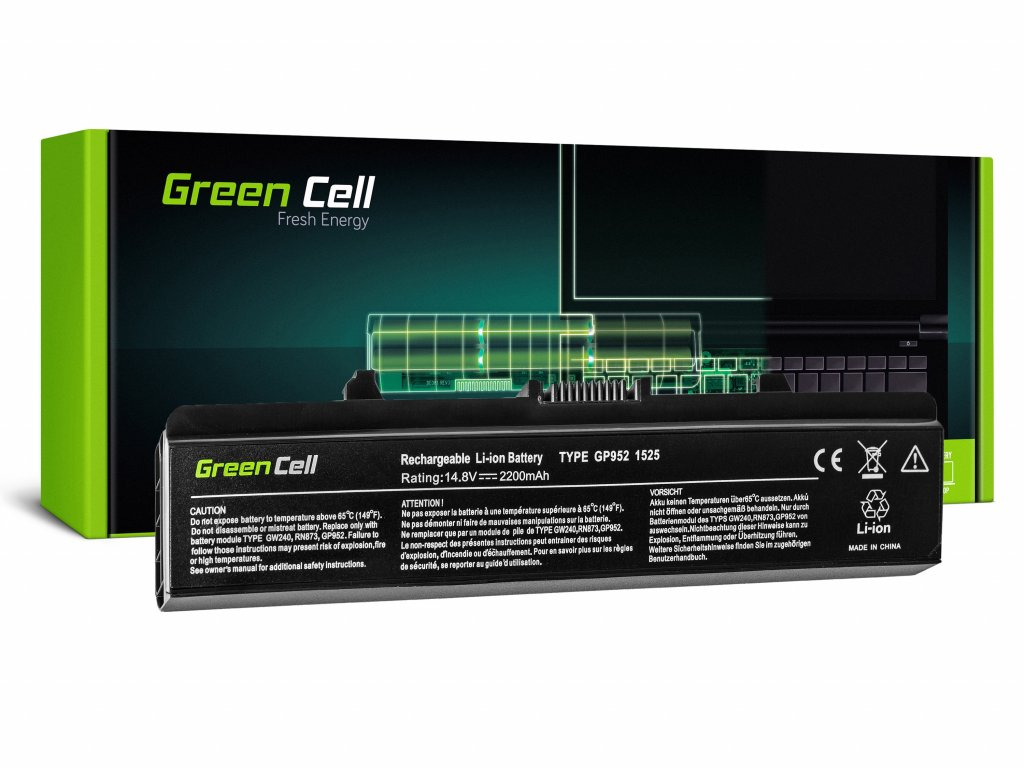 Baterie pro Dell Inspiron 1525 1526 1545 1546 PP29L PP41L / 14,4V 2200mAh