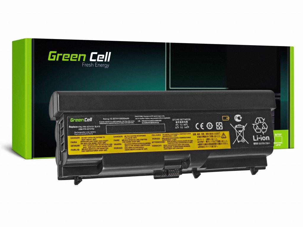 Baterie Lenovo ThinkPad T410 T420 T510 T520 W510 / 11,1V 6600mAh