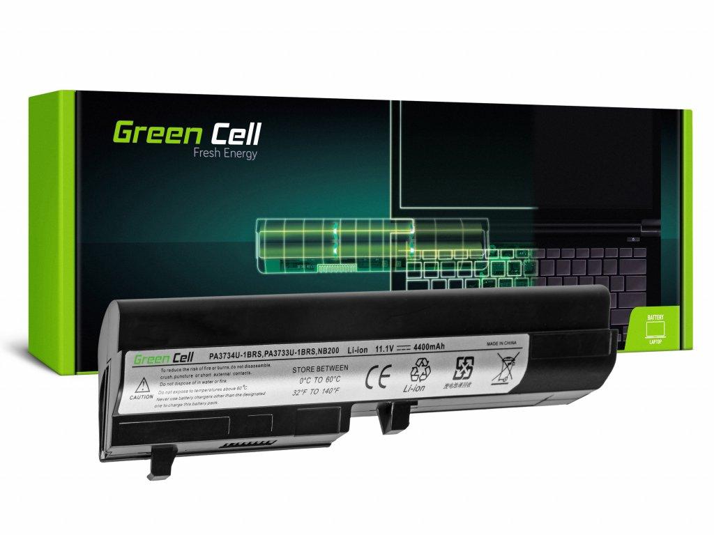 Baterie pro Toshiba Mini NB200 NB205 NB250 PA3732U-1BRS / 11,1V 4400mAh