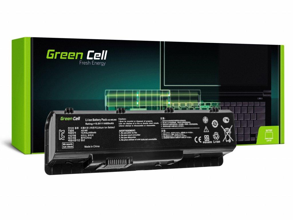 Baterie Asus N45 N55 N55S N75 N75E N75S / 11,1V 4400mAh
