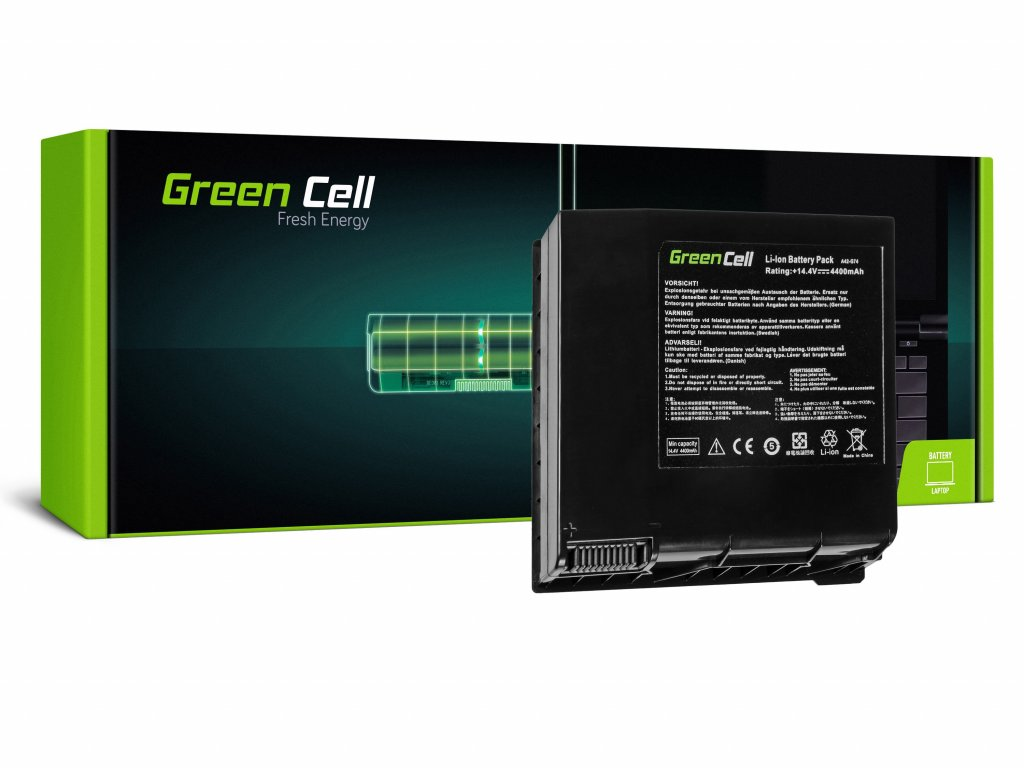 Baterie Asus G74 G74S G74J / 14,4V 4400mAh