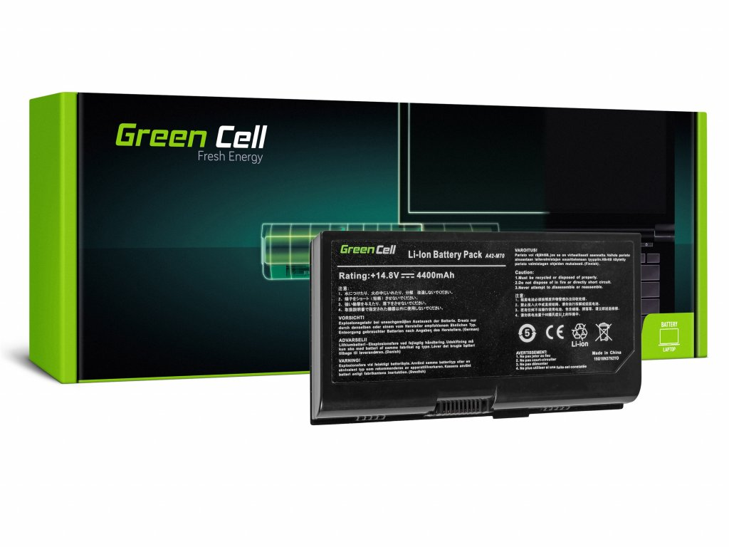 Baterie pro Asus G71 G72 F70 M70 X71 / 14,4V 4400mAh