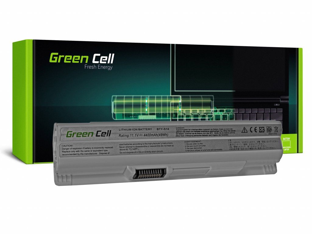 Baterie MSI CR650 CX650 FX600 GE60 GE70 (white) / 11,1V 4400mAh