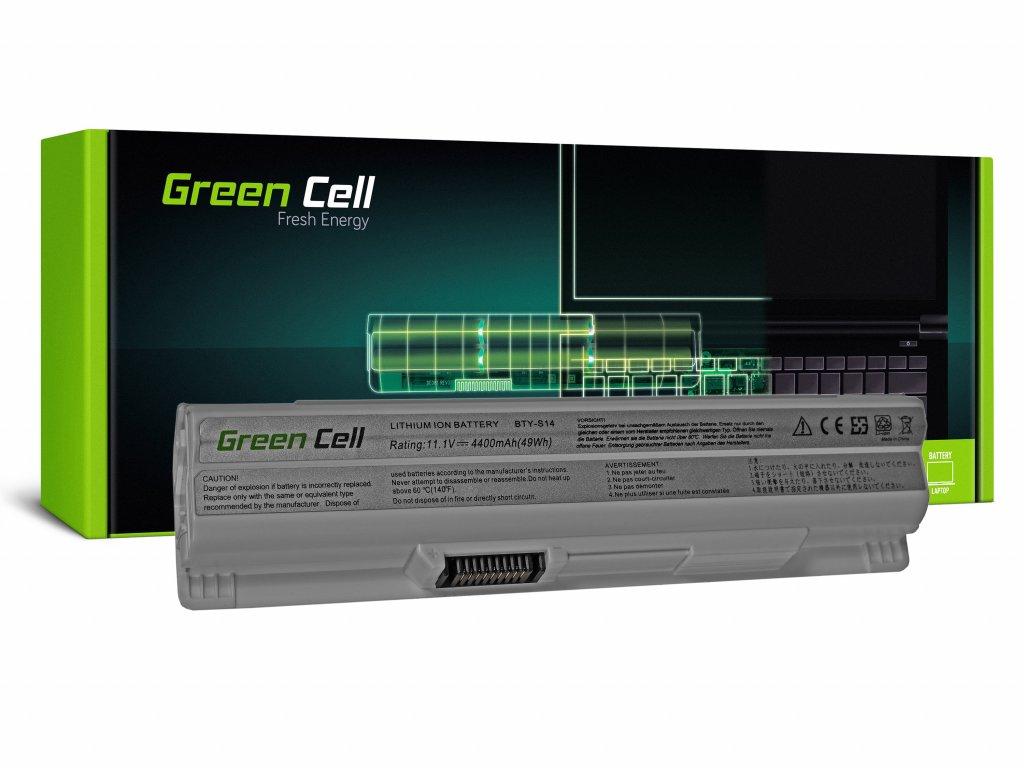 Baterie pro MSI CR650 CX650 FX600 GE60 GE70 (white) / 11,1V 4400mAh