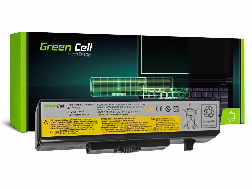 Baterie pro Lenovo Y480 V480 Y580 / 11,1V 4400mAh