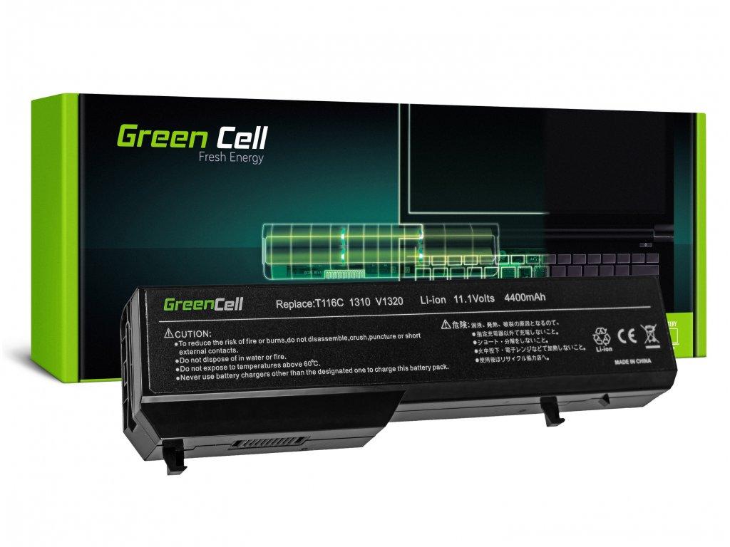 Baterie pro Dell Vostro 1310 1320 1510 1511 1520 2510 / 11,1V 4400mAh