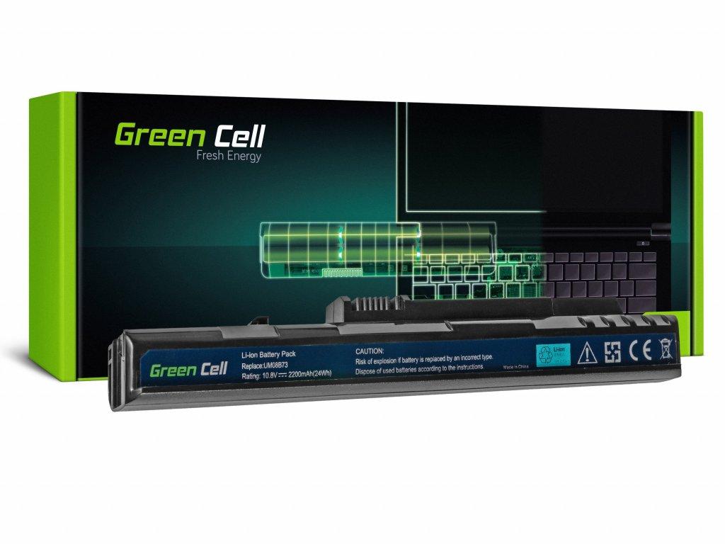 Baterie pro Acer Aspire One A110 A150 D150 D250 ZG5 / 11,1V 2200mAh