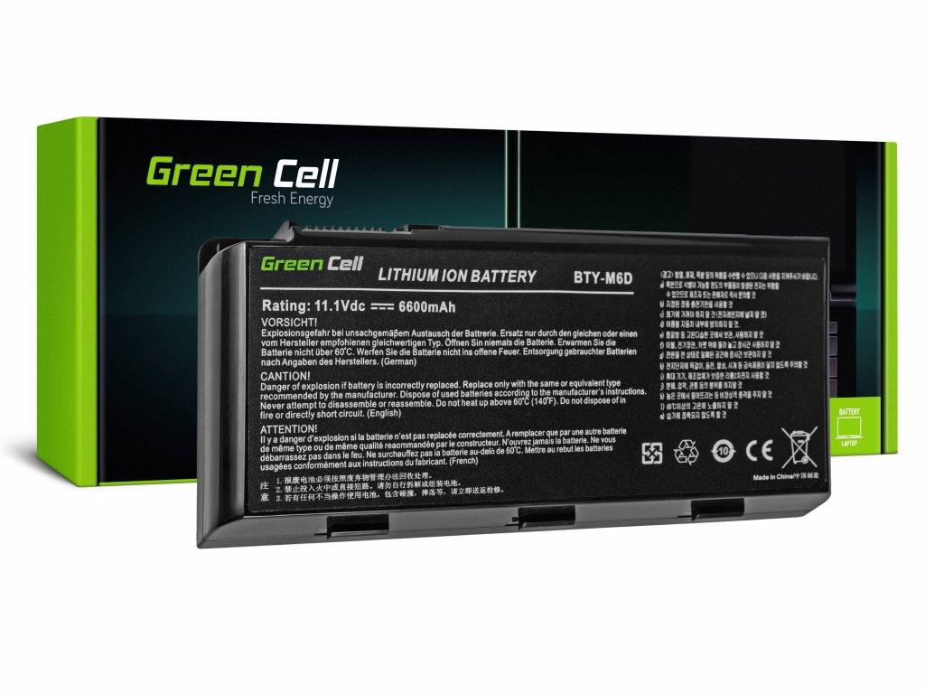 Baterie pro MSI GT60 GT70 GT660 GT680 GT683 GT780 GT783 GX660 GX680 GX780 / 11,1V 6600mAh