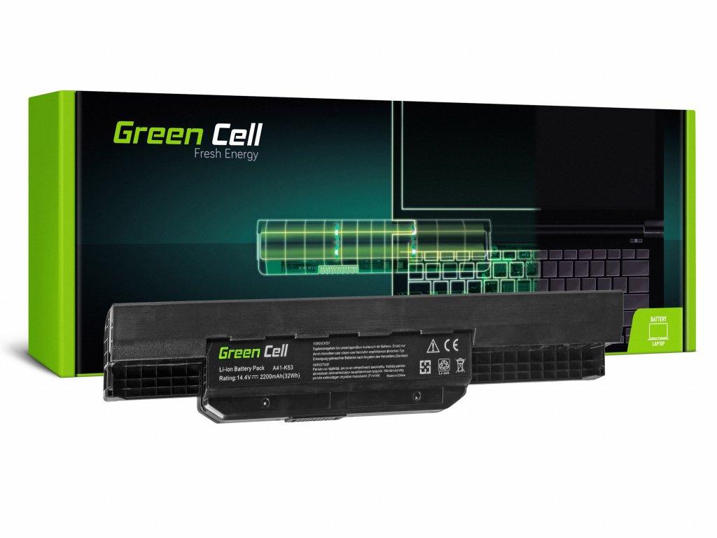 Baterie pro Asus A31-K53 X53S X53T K53E / 14,4V 2200mAh