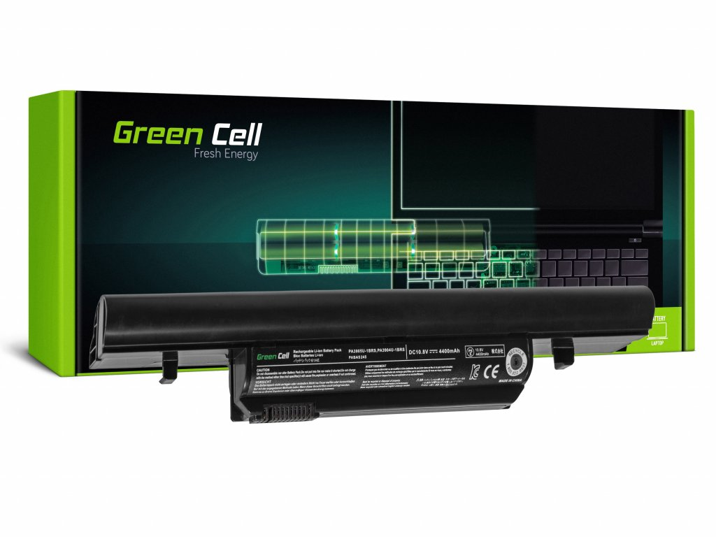 PRO Baterie pro Toshiba Satellite Pro R850, Tecra R850 R950 PA3905U-1BRS / 11,1V 4400mAh