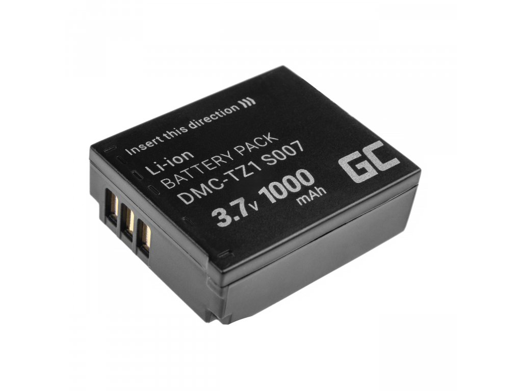 Baterie pro Panasonic Lumix DMC-TZ1 DMC-TZ2 DMC-TZ4