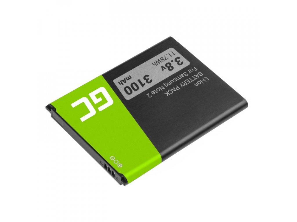 Batterie  ® für das Telefon Samsung Galaxy Note II N7100