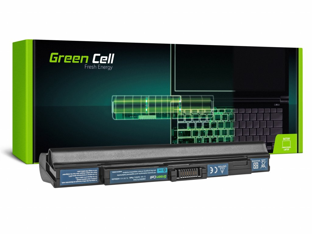 Baterie Acer Aspire One 531 531H 751 751H ZA3 ZG8 / 11,1V 4400mAh