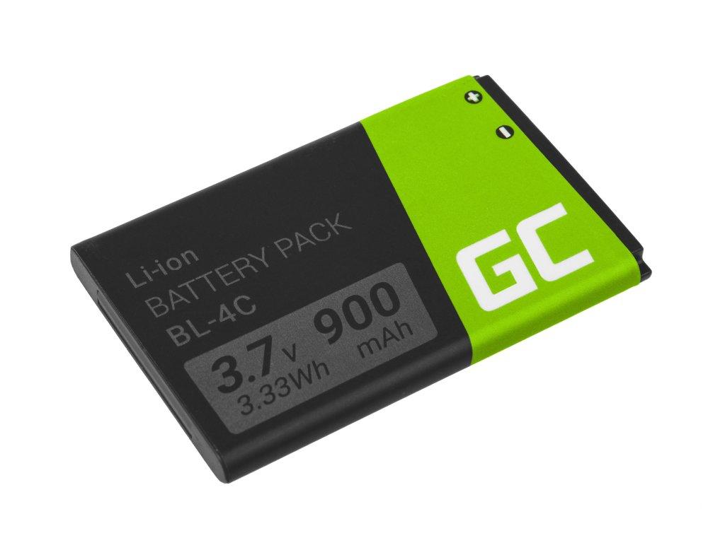 Baterie BL-4C  Nokia 5100, 6100, 6103, 6300, 7200