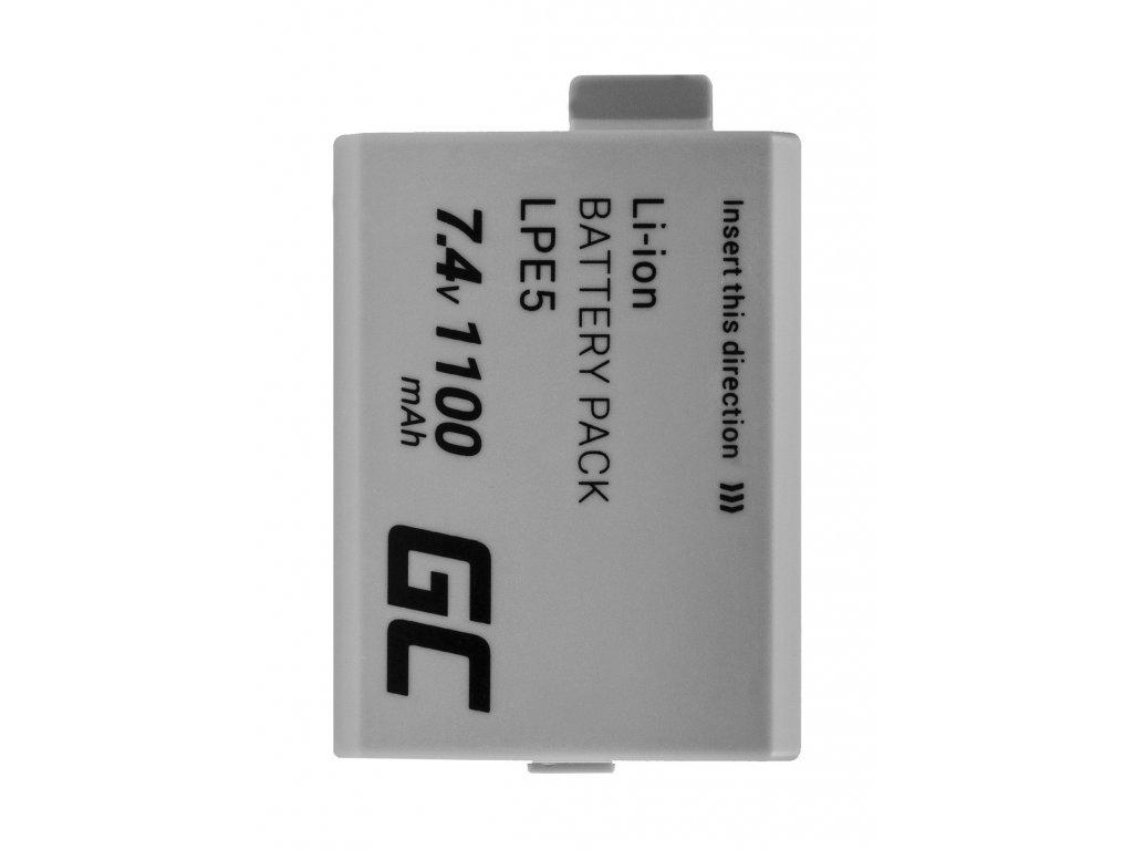 Baterie pro Canon LP-E5 EOS 450D 500D 1000D