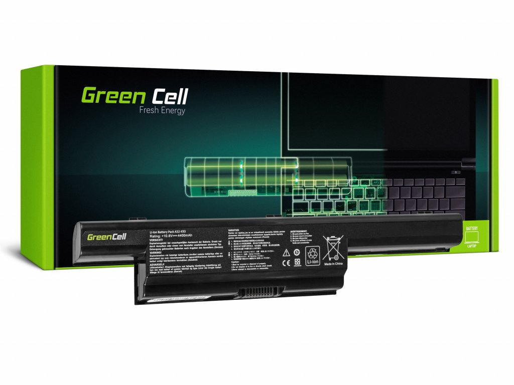 PRO Baterie pro Asus A93 A95 K93 X93 / 11,1V 4400mAh