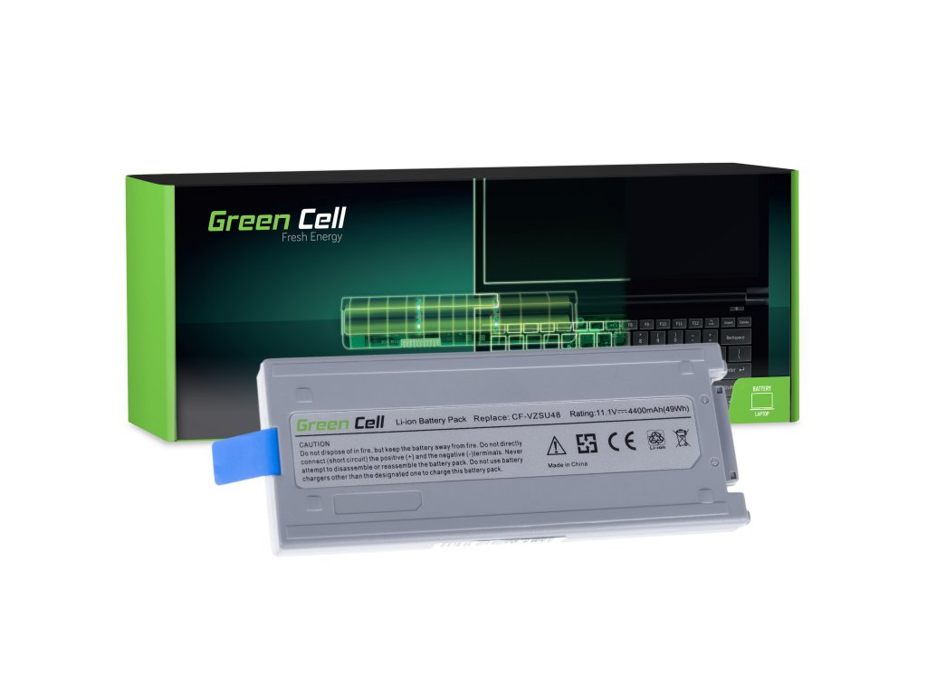 Baterie pro Panasonic Toughbook CF-19 (grey) / 11,1V 4400mAh