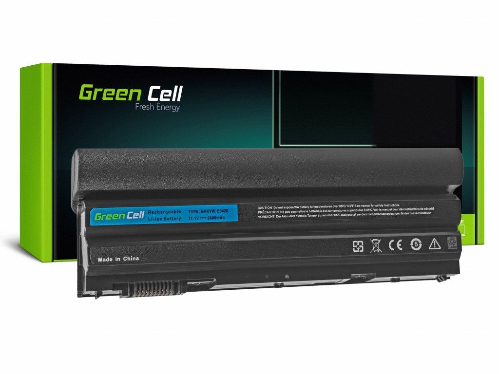 Baterie pro Dell Latitude E5520 E6420 E6520 E6530 (rear) / 11,1V 6600mAh