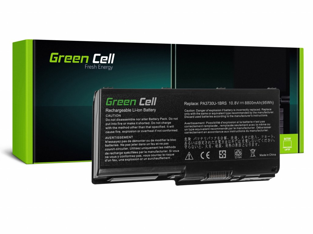 Baterie Toshiba Qosmio X500 X505 Satellite P500 P505 P505D / 11,1V 8800mAh