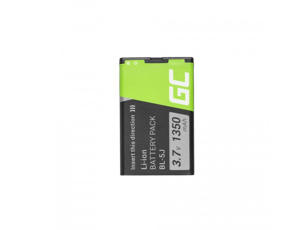 Smartphone Baterie pro BL-5J BL5J pro Nokia Lumia 520 525 530 ASHA 200 201