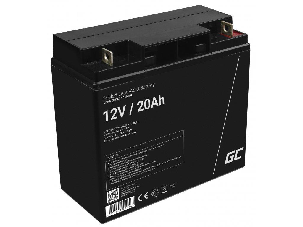 AGM Baterie 12V 20Ah
