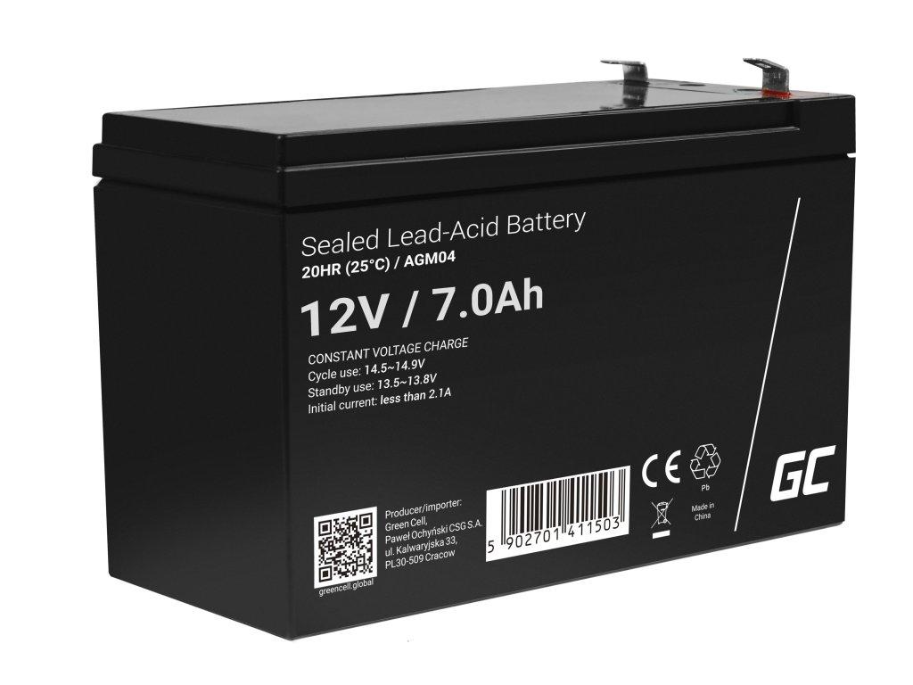 Baterie 12V 7Ah AGM