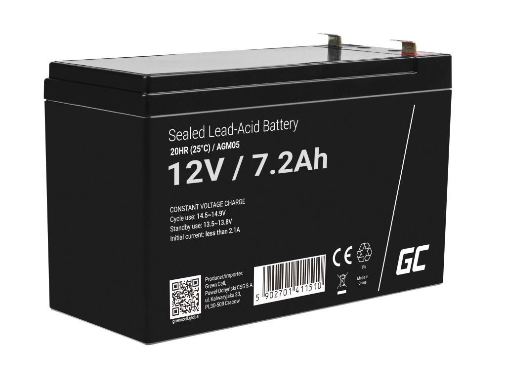 Baterie 12V 7.2Ah AGM