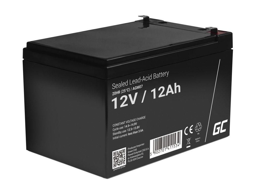 AGM Baterie 12V 12Ah