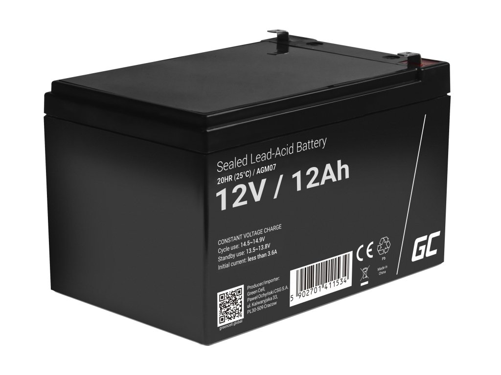 Baterie 12V 12Ah AGM