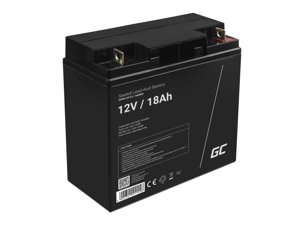 AGM Baterie 12V 18Ah