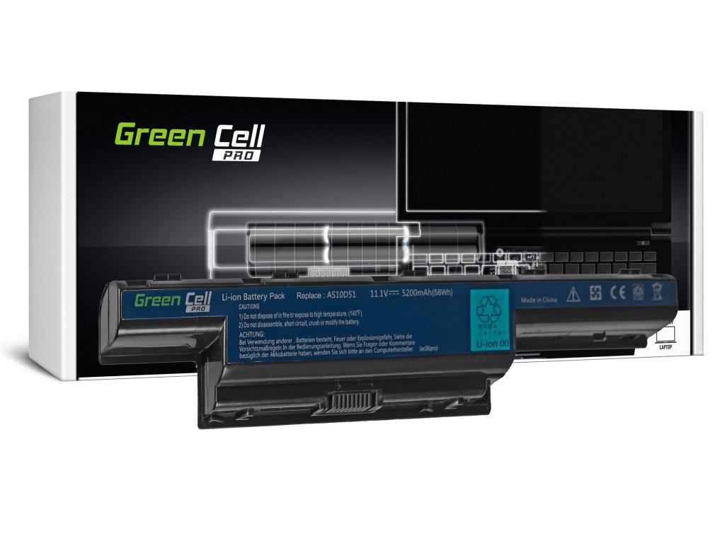 PRO Baterie pro Acer Aspire 5740G 5741G 5742G 5749Z 5750G 5755G / 11,1V 5200mAh