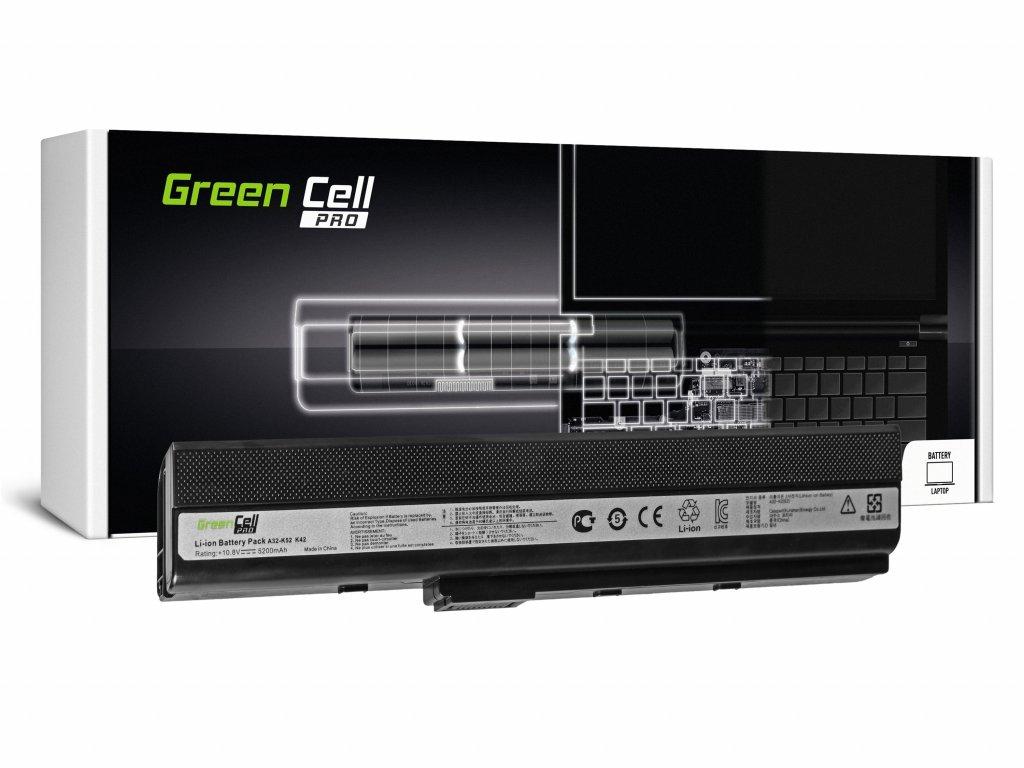 PRO Baterie pro Asus A32-K52 K52 X52 A52 / 11,1V 5200mAh