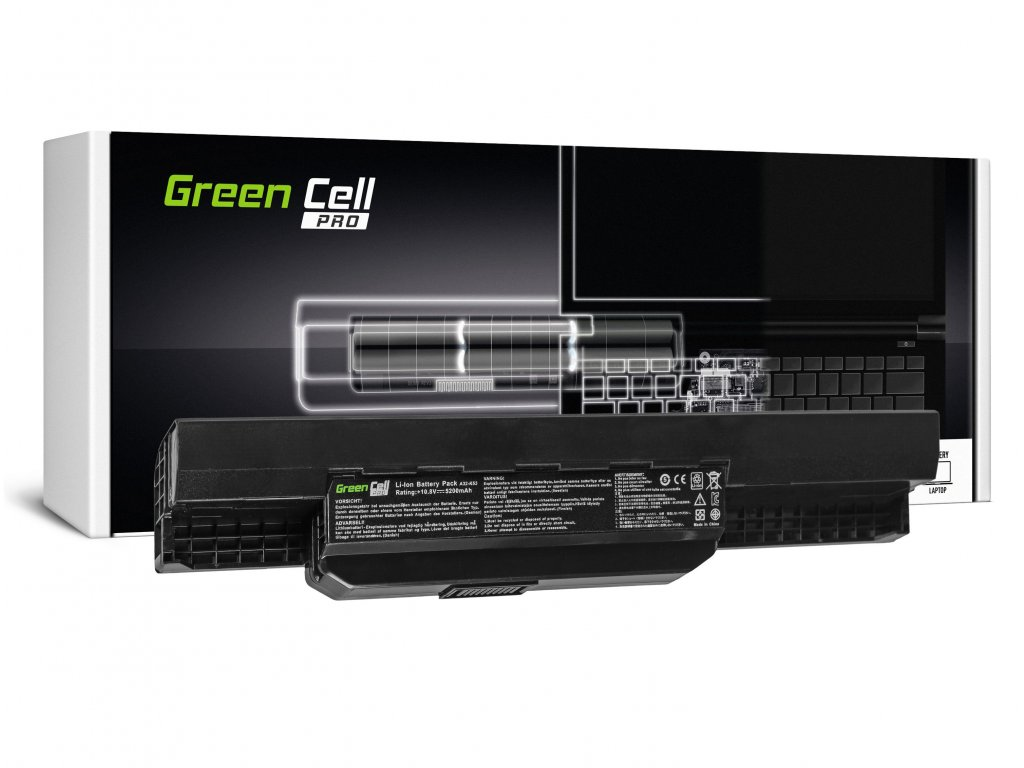 PRO Baterie pro Asus A31-K53 X53S X53T K53E / 11,1V 5200mAh