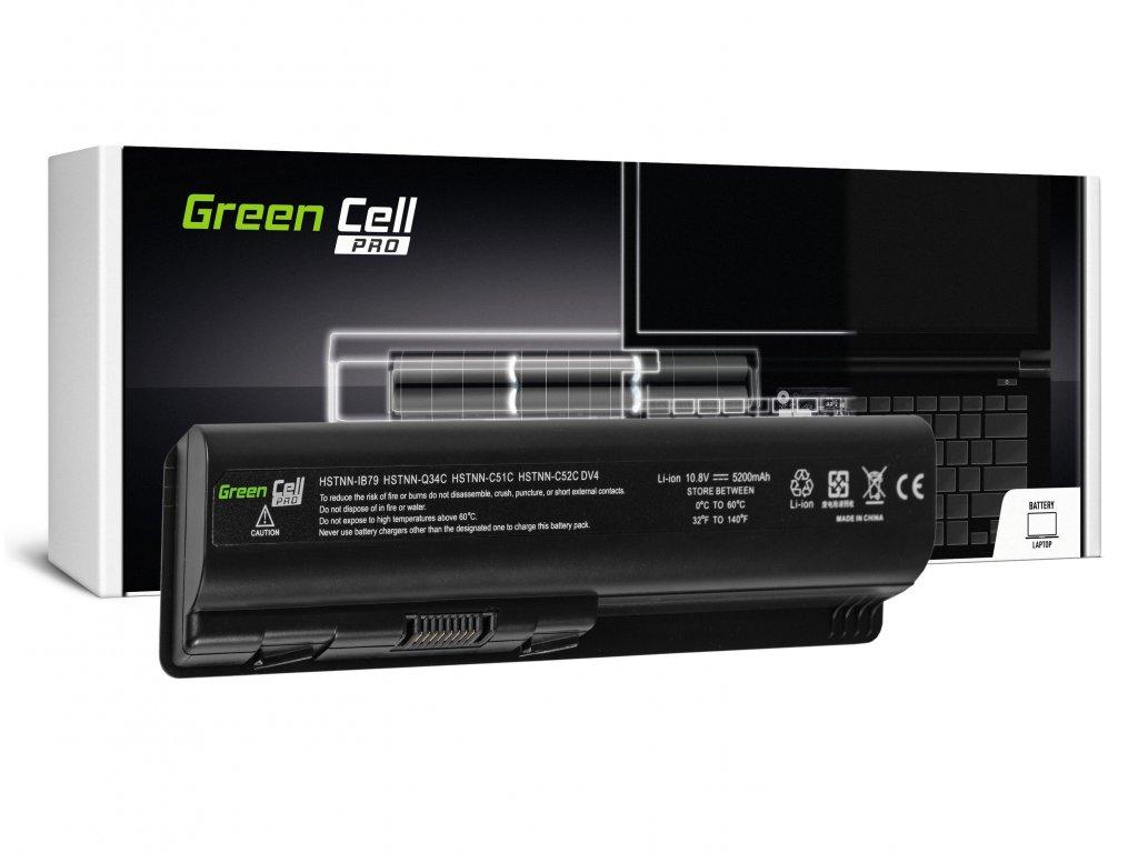 PRO Baterie pro HP DV4 DV5 DV6 CQ60 CQ70 G50 G70 / 11,1V 5200mAh