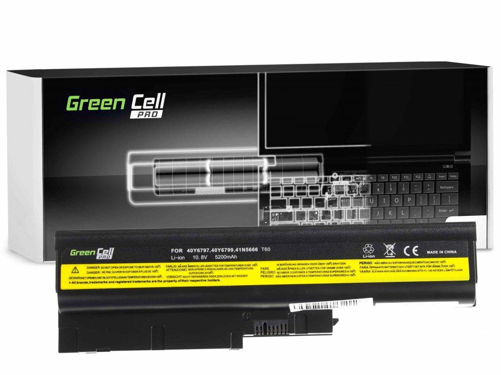 PRO Baterie pro Lenovo ThinkPad T60 T61 R60 R61 / 11,1V 5200mAh